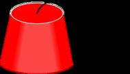 Czapeczka z Fezu. Podkładka pod kubek