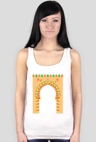 Brama do medyny. Koszulka damska na ramiączkach