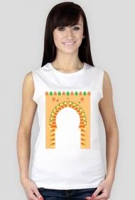 Brama do medyny. Koszulka damska bez rękawów