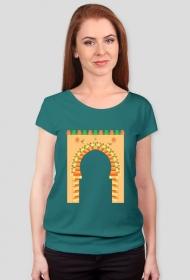 Brama do medyny. Koszulka damska z krótkim rękawkiem