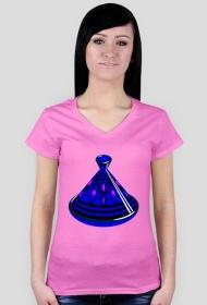 Blue Tajine. T-Shirt damski