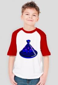 Blue Tajine. Koszulka chłopięca z kolorwymi rękawami