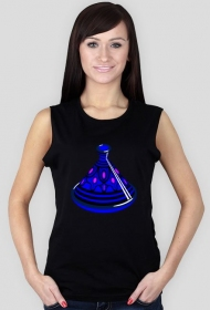 Blue Tajine. Koszulka damska bez rękawów