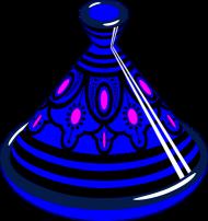 Blue Tajine. Podkładka pod myszkę