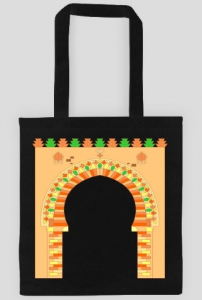 Brama do medyny. Torba bawełniana