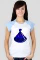 Blue Tajine. Podkoszulek damski bez rękawów Cap Sleeve Contrast