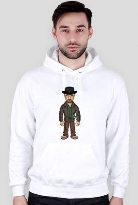 Bluza z kapturem Breaking Bad Heisenberg Walter White