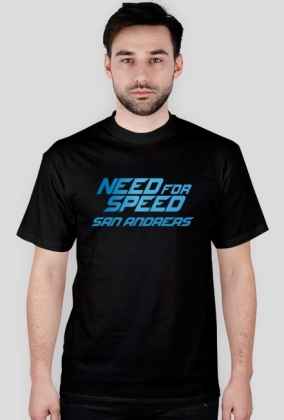 Need For Speed San Andreas - basic t-shirt