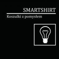 """Specjalna kolekcja 2 z 12 - Koszulka firmowa z napisem: """"SmartShirt - koszulki z pomysłem"""""""