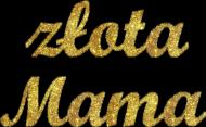 Koszulka damska dla mamy - Złota mama - Dzien Matki - STYLOWAKOSZULA.CUPSELL.PL – KOSZULKI I KUBKI NA PREZENT, NIETYPOWE I SMIESZNE KOSZULKI