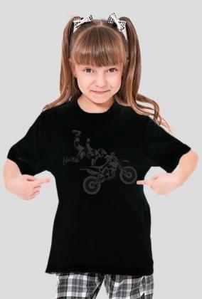 Koszulka dziecięca motocykl