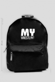 Plecak mały BLACK - MyWrestling Official