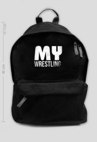 Plecak duży BLACK - MyWrestling Official