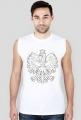 Koszulka męska, nadruk: Orzeł w koronie