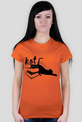 Koszulka Kot Książkowy