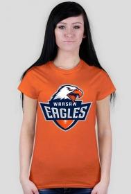 Koszulka WE damska pomarańczowa