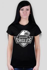 Koszulka WE damska czarna