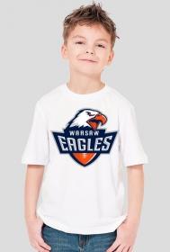 Koszulka WE dziecięca biała