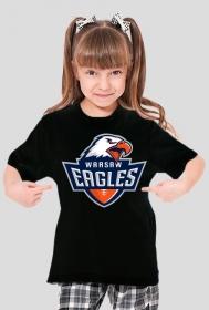 Koszulka WE dziewczęca czarna