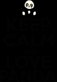 Bluza - Keep Calm And Love Panda