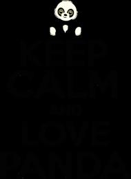 Kubek - KEEP Calm And Love Panda