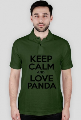 Koszulka - Keep Calm And Love Panda