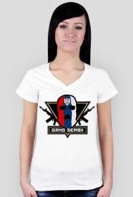 """Koszulka """"Gang Serbii"""" Damska"""