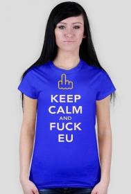 """Koszulka """"Keep Calm UE"""" Damska"""