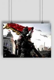 """Plakat """"Odzyskamy Lwów"""""""