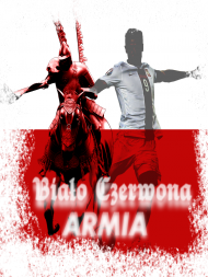 """Koszulka """"Biało Czerwona ARMIA"""""""