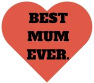 Best Mum Ever. Bluza damska