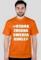 Koszulka #dobrazmiana