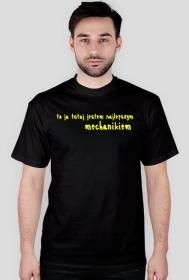 Koszulka najlepszy mechanik