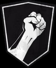 Insurgency t-shirt FIST | Black 2
