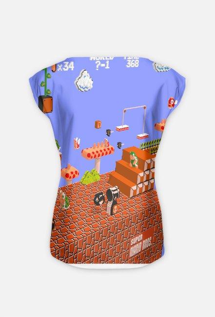 Mario 3D Effect