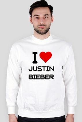 "Hoodie ""I love Justin Bieber"""