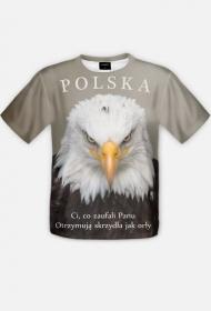 KOSZULKA Ci co zaufali Panu - Polska - męska