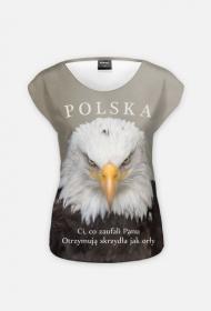 KOSZULKA Ci co zaufali Panu - Polska - damska