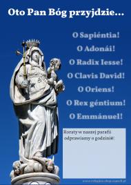 PLAKAT dla parafii Adwent Roraty