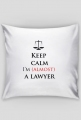 Keep calm I'm almost a lawyer