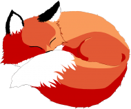 Koszulka dziewczynka sleep fox