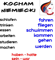 Czasowniki niemieckie - Czas przeszły - Perfekt