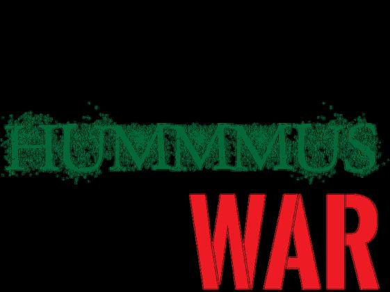 Koszulka wegańska/wegetariańska: Make Hummus Not War