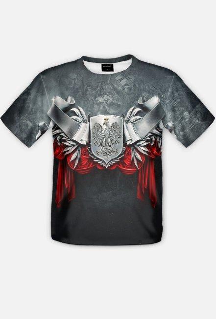 8251fd9d8679 Koszulka z godłem Polskim - koszulki fullprint w UnzioM