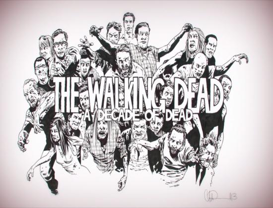 The walking Dead- Poduszka