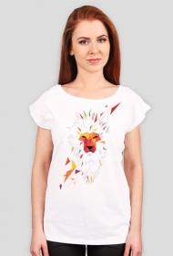Vector Reggae Lion T-shitr - Koszulki w Space Balls