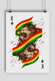 Reggae Lion King Plakat - Plakaty w Space Balls