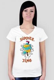 Summer Time T-shitr - Koszulki w Space Balls