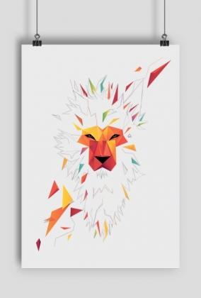 Vector Reggae Lion Plakat