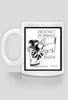 Zodiak BARAN Kubas jednostronny bez daty